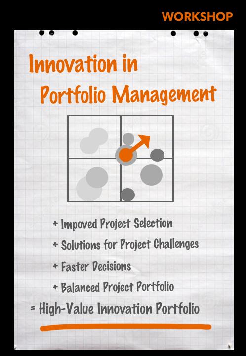 Workshop Innovation in Portfolio Management
